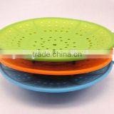 fruit vegetable tray pan shelf basket container drainage plate bowl steamer 3 in 1