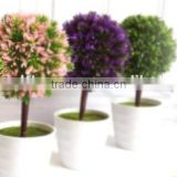 Christmas PE artificial pine tree branches for centerpieces