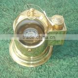 Brass Helmet Compass, nautical compass, nautical ship compass, brass nautical compass, wooden brass compass,