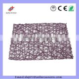 45*30cm Wholesale vinyl pp placemats for restaurant