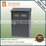 Hot smart letter boxand stainless steel letter box