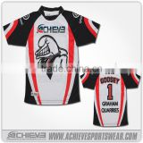 New style Low Cost sublimation Cricket Team Names Jersey