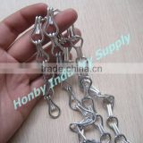 Fashionable Silver Color Aluminum Hook Link Chain Curtain