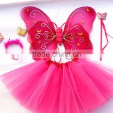 halloween dress up fairy party costume butterfly wings cheap set