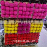 Accessories Fur Ball Hot Selling Genuine White Wholesale rex Rabbit Fur Pom Poms