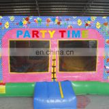 party time inflatable bouncer slide combo