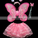 Hot sale sexy wings Pink Silk Butterfly Wing Set China supplier party decorations