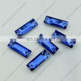 6*18mm Cosmic Baguette Sew on crystal Rhinestone for Garment Accessories
