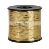 M TYPE Ribbon Yarn &Knitting METALLIC&LUREX YARN&Weaving pure polyster fibre metallic yarn