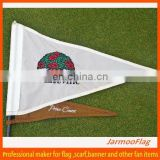 custom logo embroidery golf flag