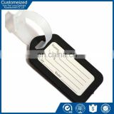 Simple plain writable plastic luggage hang tag