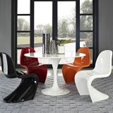 Fiberglass Modern S-shaped Chair