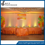Pipe and drape dome canopy round wedding mandap