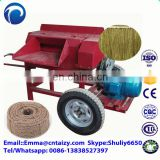 peeling machine Jute Decorticator Machine Sisal jute hemp flax processing machine