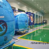 top OEM Manufacturer with thousand grade cleanroom customized non-standard HALAR / PTFE / Teflon / ECTFE coating PTFE Roller coating PTFE tanks, durable PFA tanks, ETFE tanks, new-PTFE tanks, F40 tanks