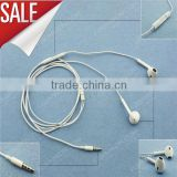 High Quality ! Newest Special Design Earphone Ear Pods For iPhone 5 humane ear piece new shape