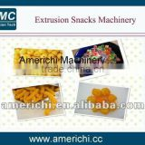 Extrusion snacks machine