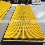 Heavy Duty FRP Pultruded Gratings For Trench Cover