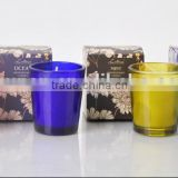 Colored scented candle soy wax paraffin wax gift set