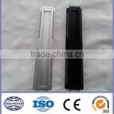 short anodized and CNC deep process aluminium profiles for LED strip,LED aluminium profiles