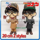 MINI QUTE 2 style 20 cm Case Closed Detective Conan Japanese anime action figures scale model brinquedos boy in box NO.MQ 103