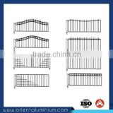 Metal Gate Designs for Aluminum Gate