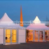 Luxury wind resistant PVC fabric 20 x 20 event tent                                                                         Quality Choice