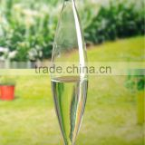 hanging clear glass vases wholesale