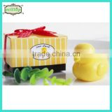 Hot sell ducky shape soap for muslim wedding gift