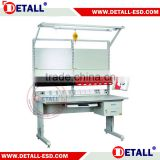 Detall electronics work bench for mobile phone repair