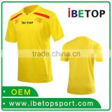 Best-Selling china Manufacturers yellow brazil xxl soccer jersey with 15 experience