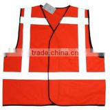 high visibility reflective vest safety vest EN471 hi viz reflective clothing