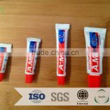 2015 new easy taking soft hotel toothbrushes /8g medicated tooth paste