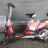 new mini 2 wheel electric city bike without pedal double seat CT