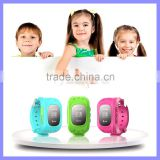 Silicone WIFI Wrist Cell Phone Watch For Kids Watch Phone With SOS Phone Call GPS Tracker