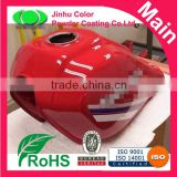 Candy red color powder coating paints