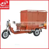 high torque brushless dc motor cabin three wheel electric 900w battery electric cargo truck motorcycle in Guangzhou China