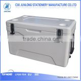 rotomold plastic cooler box 80L with PE PU