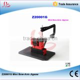 LY Z20001G Mini Bow Arm Jigsaw lathe machine,Allow straight and curve cutting