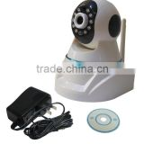 CCTV Home Monitor 1.0MP IP ONVIF WPS P2P 32G TF Card Surveillance House Video Phone IP Camera