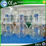 Wholesale giant human bubble ball bumper ball suit Bubble Ball For Adult                                                                                                         Supplier's Choice