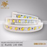 AC 110V/220V SMD 5730 45LM/LED IP68 with CE/RoHS/LVD led strip 50m                                                                                                         Supplier's Choice