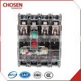 80amp 100amp 4pole load break switches, 35KA transparent cover shell mccb circuit breaker