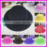 Felt mini top hat, 13cm mini top hat, party mini top hat
