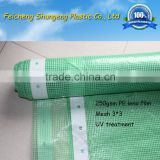 HDPE Green mesh leno tarpaulin/film for scaffolding sheet with reinforced border                                                                         Quality Choice