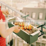 Balcony Outdoor BBQ Grill Barbecue With Accessories
