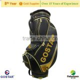 Black Golf Staff Bag