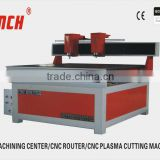 Small cnc router with two spindles / 2.2kw spindle /stepper motors/vacuum table /Ncstudio controller