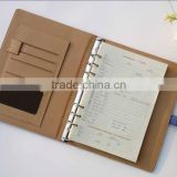 Fashion A5 Leather Organiser Diary with ring binder 2016