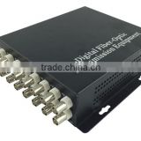 16 channel Video 20km single fiber for FTTH CATV Optical Receiver